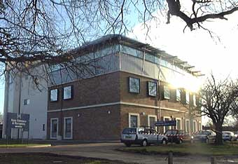 View of Harefield Heart Science Centre